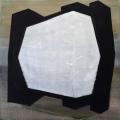 Belső blokk, 2013. 100x100cm, akril,vászon – Inner block, 2013. 100x100cm, acrylic on canvas
