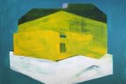 T.S.C.N., 100x150 cm, akril, vászon, 2014 | T.S.C.N., 100x150 cm, acrylic on canvas, 2014