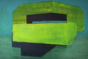 T.Z.C.N., 100x150 cm, akril, vászon, 2014 | T.Z.C.N., 100x150 cm, acrylic on canvas, 2014