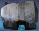 E.T.C.N., 160x200 cm, akril, vászon, 2014 | E.T.C.N., 160x200 cm, acrylic on canvas, 2014